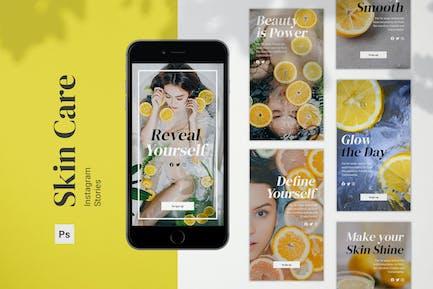 Skin Care Instagram Stories