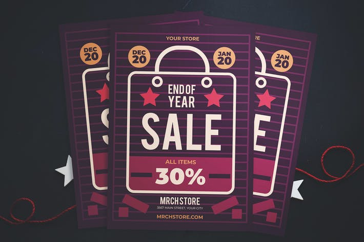 Thumbnail for End Of Year Sale Flyer
