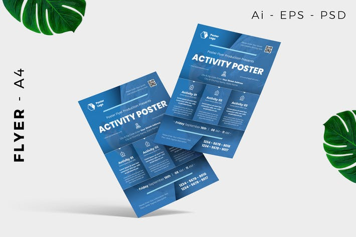Activity Poster Flyer Design