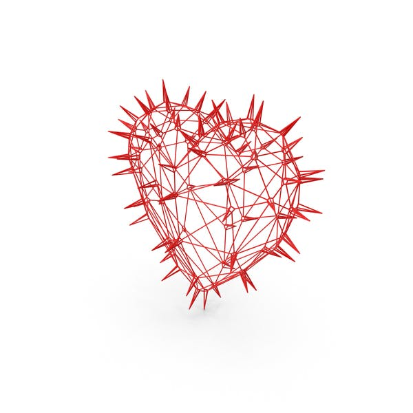 Thorny Wire Heart