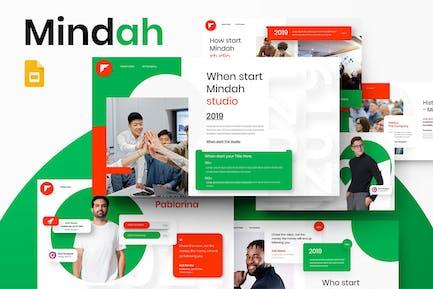 Mindah - Business Google Slide Template