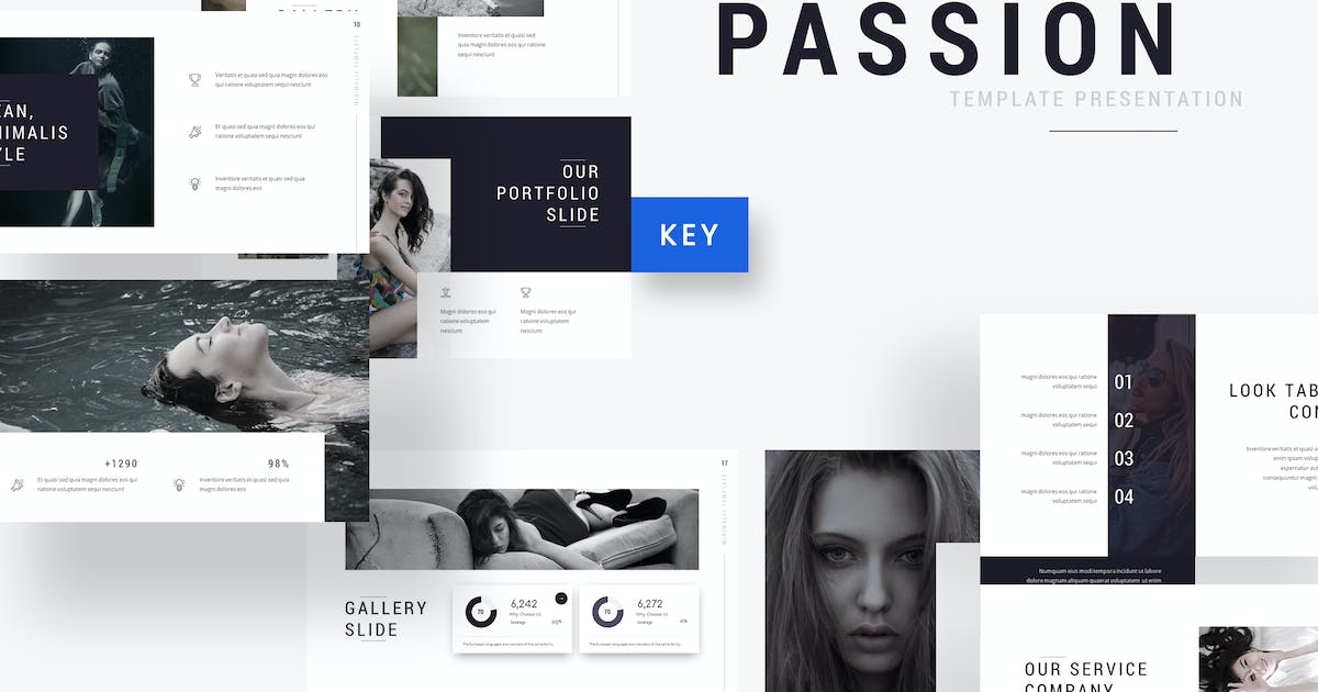 Download Passion - Photography Keynote Template by jegtheme