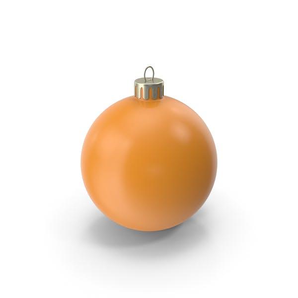 Рождественский орнамент оранжевый