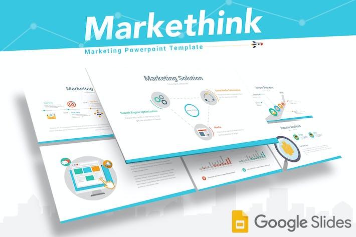Thumbnail for Markethink - Google Slides