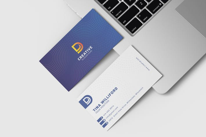 Thumbnail for Business Card Visit Template