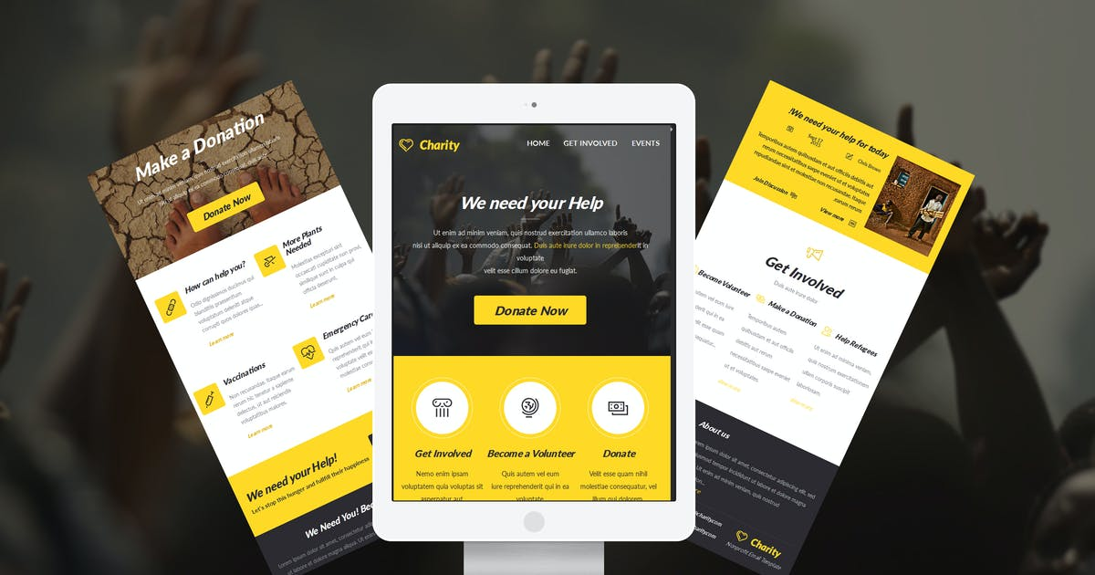 Download Charity E-newsletter Template by JeetuG