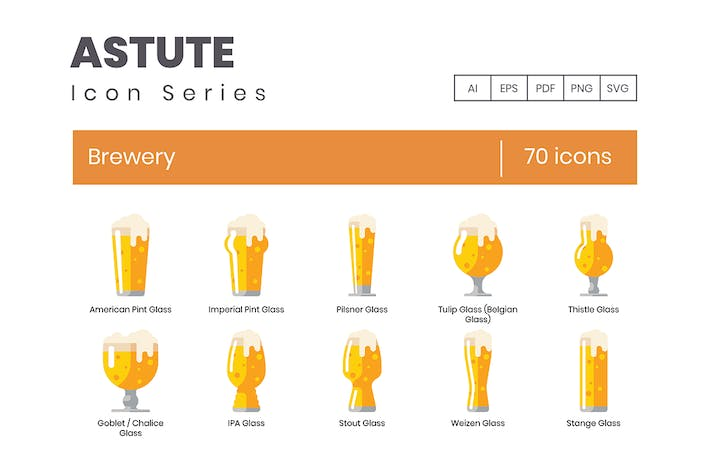 Thumbnail for Brewery Icons - Astute Series