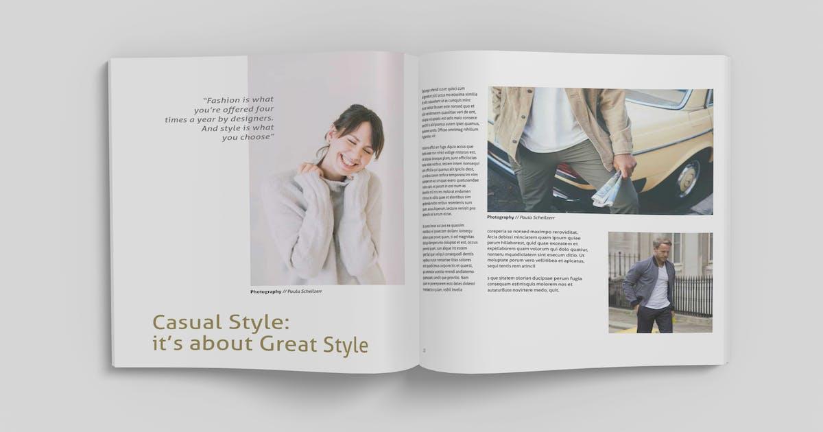 Download Square Magazine Mockup V1 by IanMikraz