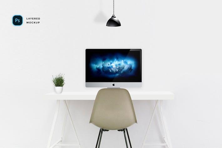 modern workspace mockup kit by unbranded on envato elements
