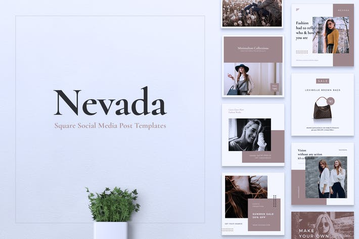 Thumbnail for NEVADA Fashion Instagram & Facebook Post