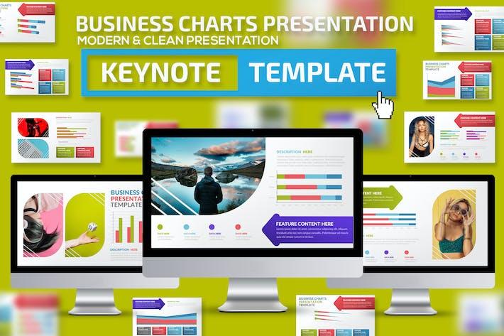 Thumbnail for Business Charts Keynote Presentation