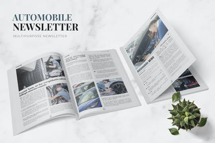 Automobile Newsletter