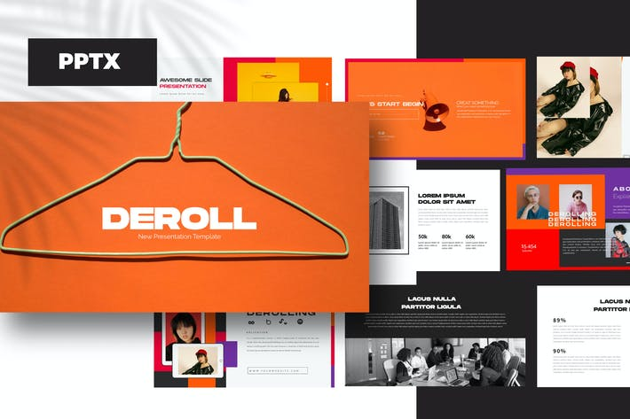 Thumbnail for DEROLL - Powerpoint Business Corporate