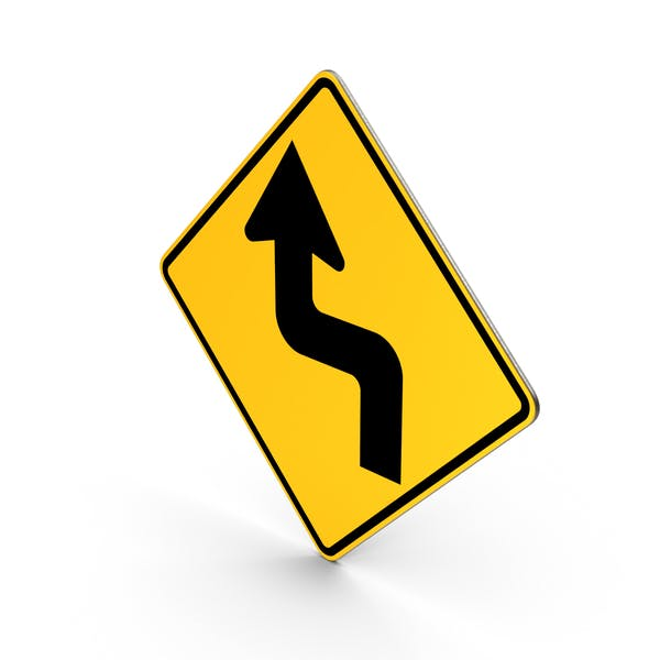 Cover Image for Reverse Turn Road Sign
