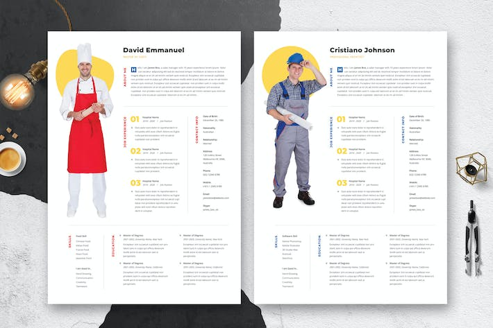 Thumbnail for Multipurpose Resume / CV Template 17