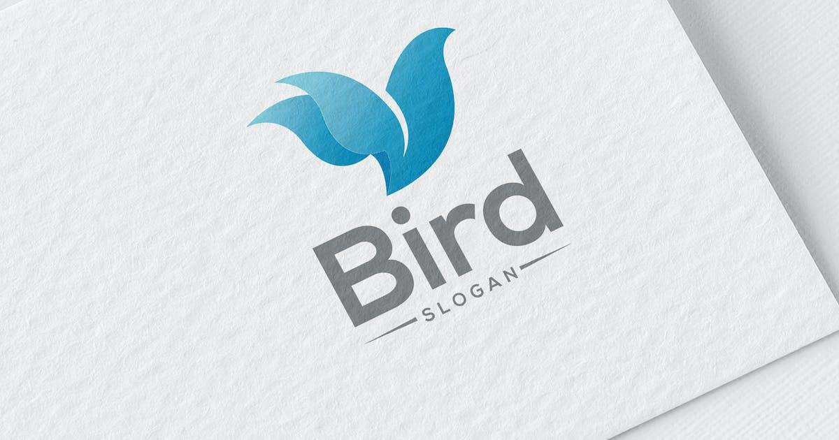 Download Bird Flower Logo by MONOGRPH