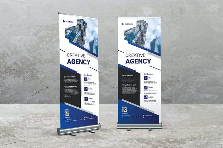 Thumbnail for Creative Digital Roll Up Banner