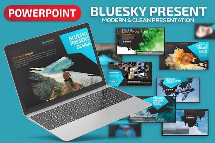Thumbnail for Bluesky Powerpoint Presentation