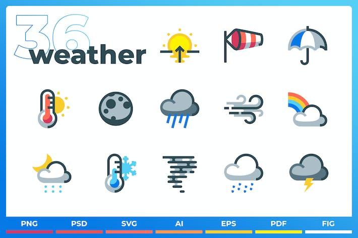 Wetter Icons - Iconez