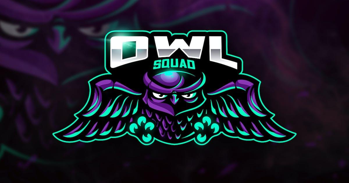 Download Owl Squad - Mascot & Esport Logo by aqrstudio