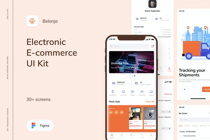 Belanja - Electronic E-commerce UI Kit