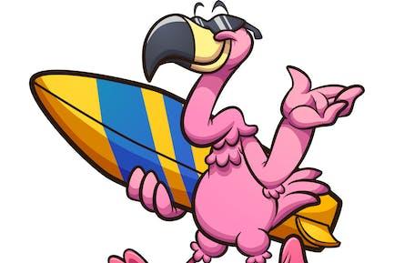 Coole Flamingo