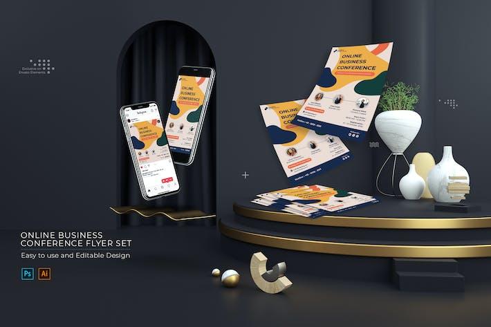 Thumbnail for Online Business Flyer Set - Instagram Stories