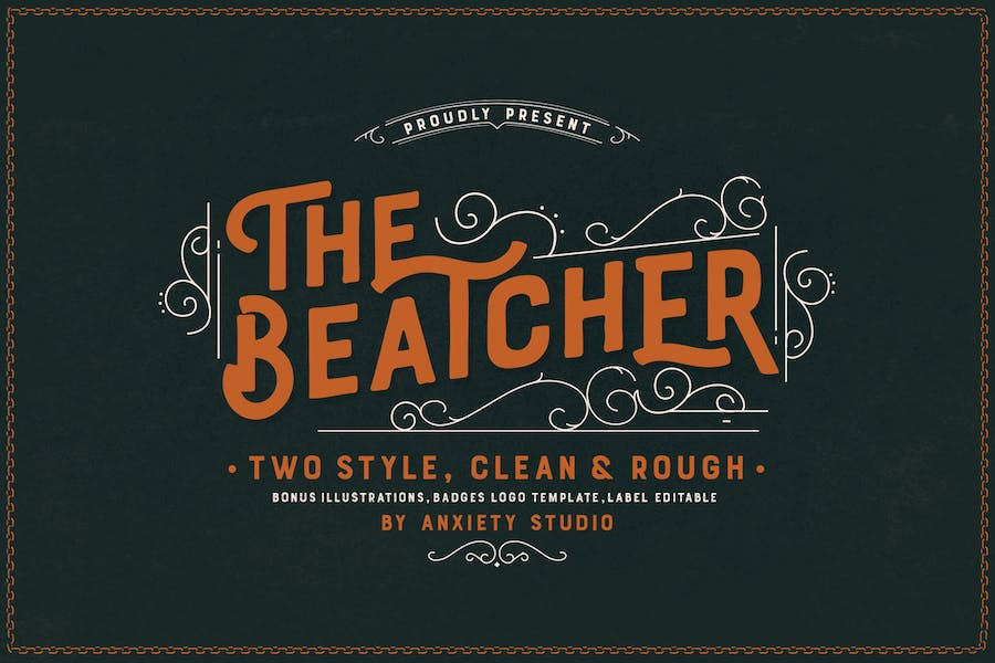 The Beatcher Font Extra