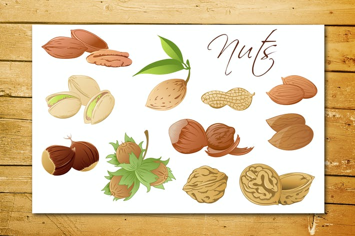 Thumbnail for Set of Various Nuts