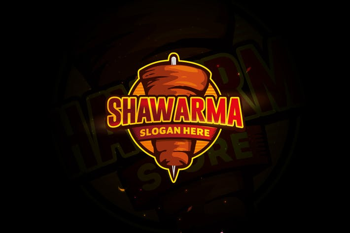 Thumbnail for Grill Shawarma Logo Design