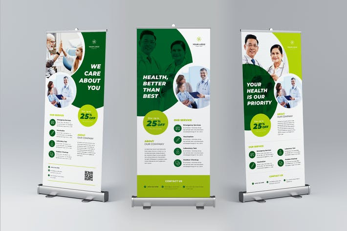 Thumbnail for Roll Up Banner Medical