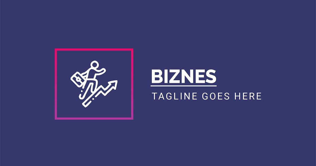 Download Biznes - Multiconcept Logo Template by ThemeWisdom