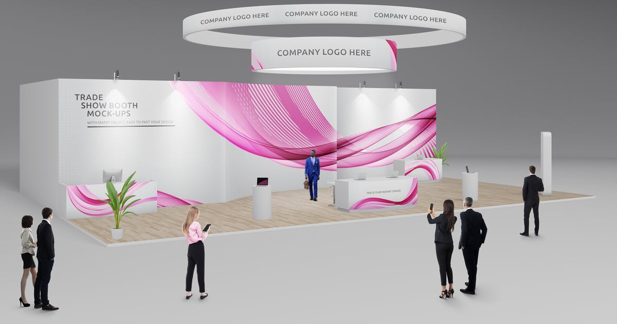 Download Trade Show Booth / Displays Mock-Ups Vol.4 by Kheathrow
