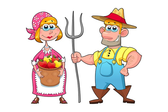 Thumbnail for Funny Couple of Farmers