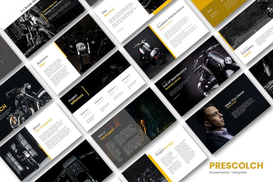 Шаблон презентации Prescolch