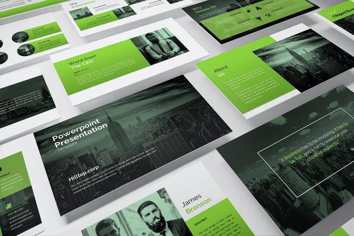 Thumbnail for Hilltop - Corporate Powerpoint Template
