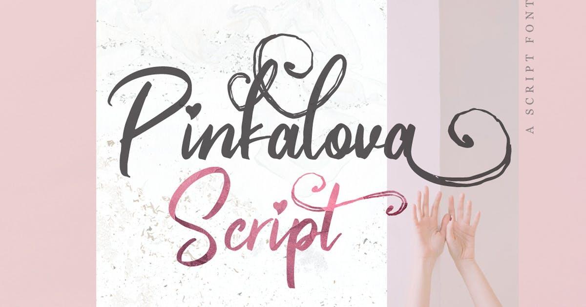 Download Pinkalova - Handwritting Script Font by Voltury