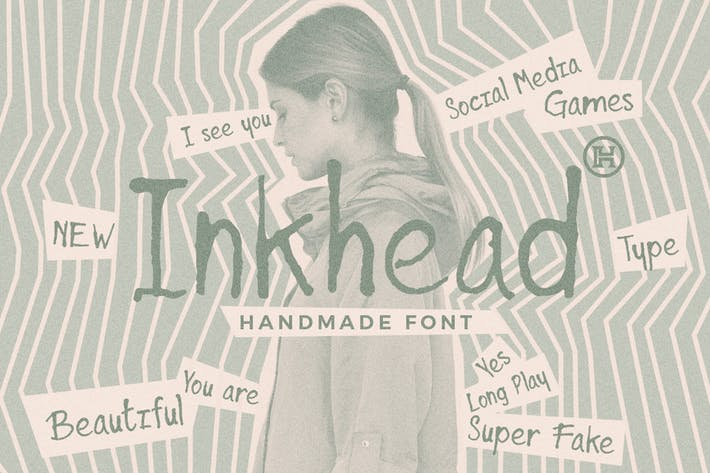 Thumbnail for Inkhead Typeface