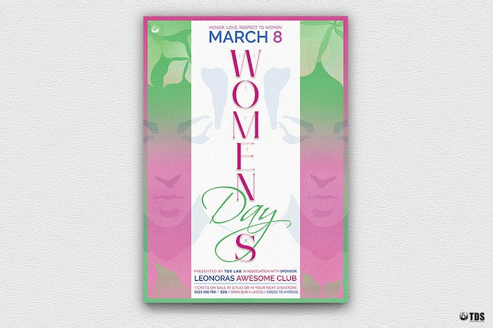 Thumbnail for Womens Day Flyer Template V2
