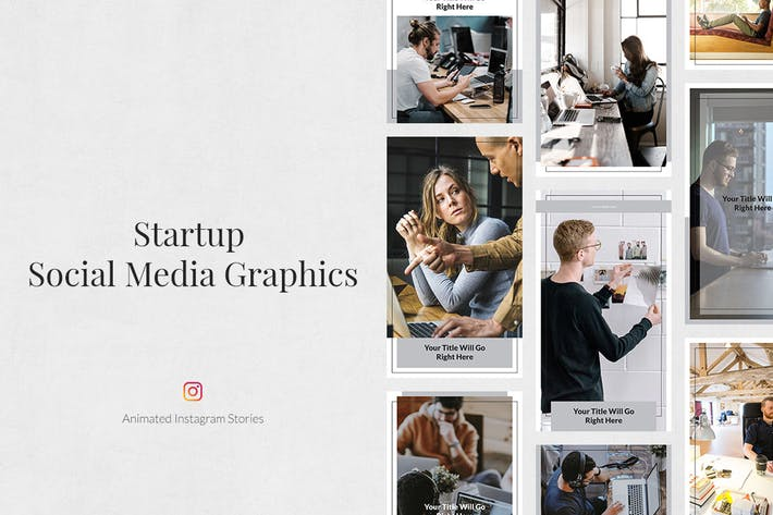 Thumbnail for Startup Animated Instagram Stories