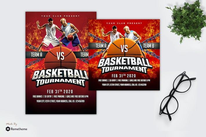 Thumbnail for Basketball Tournament - Sport Flyer MR