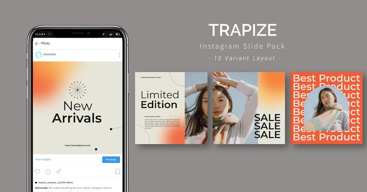 Download Trapize - Instagram Slide Pack by Blesstudio