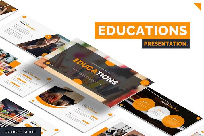 Thumbnail for Educations - Google Slide Template