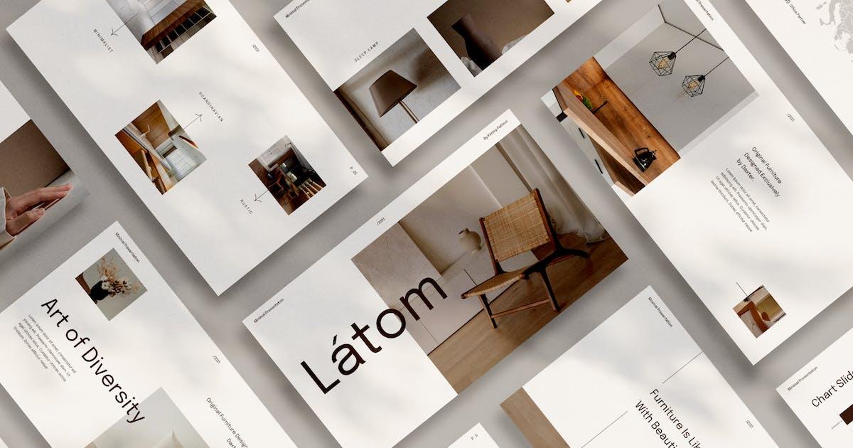Download Latom Powerpoint by visuelcolonie