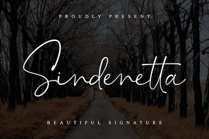 Синденетта - Красивая подпись