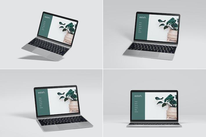 Thumbnail for Macbook Air Laptop Mockup Vol 03