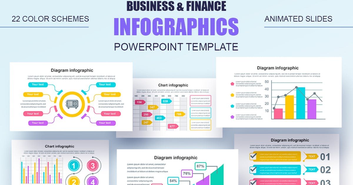 Download Infographics Multipurpose Powerpoint by alexdndz