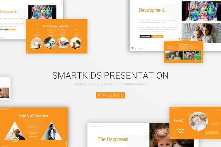 Thumbnail for Умные дети - Google Slide Шаблон