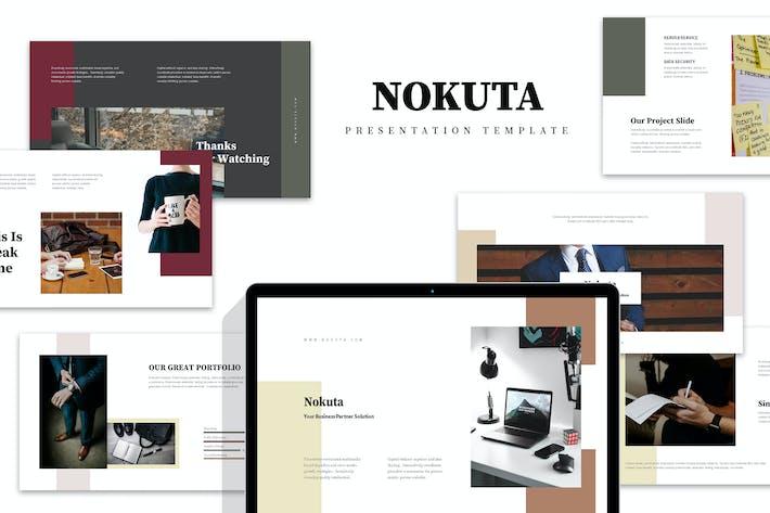 Nokuta: Стартап Бизнес Элегантный Keynote