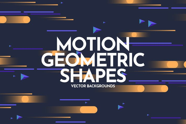 Thumbnail for Motion Geometric Shapes Backgrounds